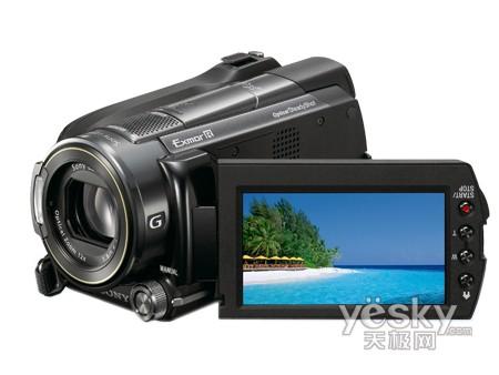 120G大容量高清DV 索尼XR500E一鸣惊人