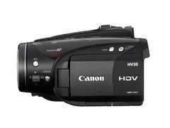 296万像素高清DV机 佳能HV30仅售7250元