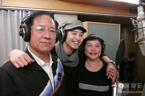 潘玮柏找爸妈进录音室合唱,差点引发父母争吵。照片/巨室音乐提供