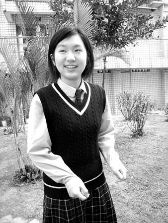 厦门外国语学校蒋艺夺取福建省高考理科状元