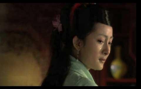 杨幂在新版《红楼梦》中造型