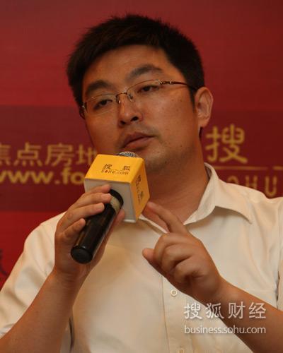北京大学经济所房地产金融研究中心副理事长 张辉