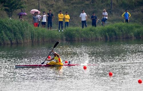 冠军:全运皮划艇图文周玉波获得预赛摩托车交规图片