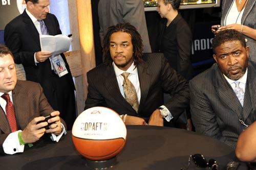 图文:[NBA]09NBA选秀 乔丹-希尔