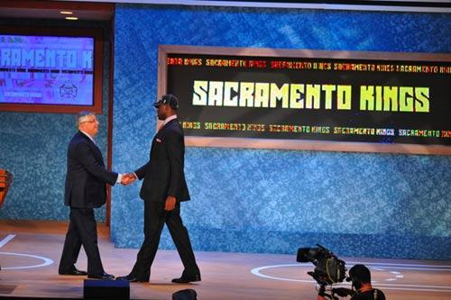 图文:[NBA]09NBA选秀  4号秀埃文斯