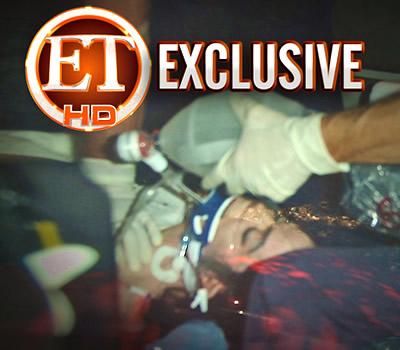 杰克逊被送往医院照片曝光