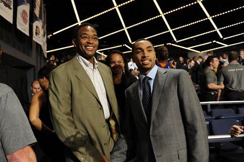 图文:[NBA]09NBA选秀  亨德森心情不错
