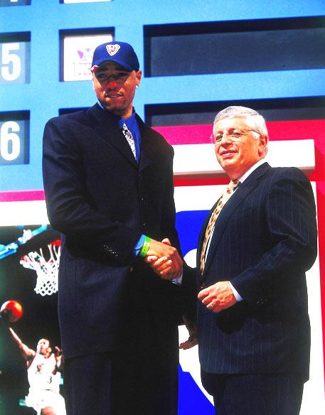第一名:2000年选秀
