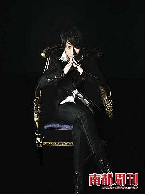 从一名普通魔术师变成魔术明星,刘谦越发显示出一种王者风范。受访者供图