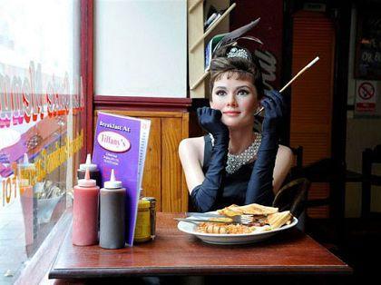 奥黛丽・赫本《蒂凡尼早餐》