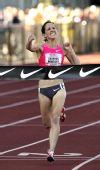 图文:2009美国田径选拔赛 1500米鲁蓓丽冲刺