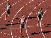 图文:2009美国田径选拔赛 400米理查德兹获胜