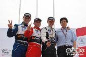图文:POLO杯第二站第二回合 获奖车手合影