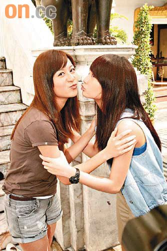 Elanne Kong and Rainie Yang