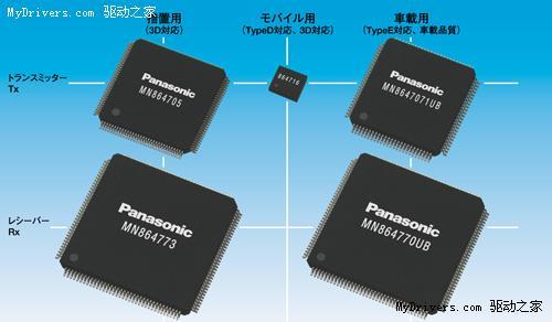 松下宣布首款Micro HDMI 1.4接口控制芯片
