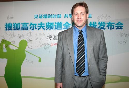 IMG中国区高尔夫执行总监莫毅怀