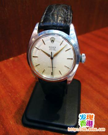 上链手表 港币6800元 不说不知,原来劳力士也曾推出上链手表,这款是1960年代的出品