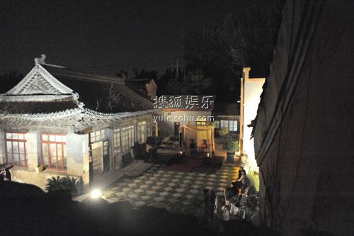 刘烨订婚宴场地内景