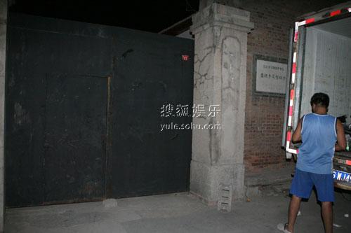 刘烨婚宴场地门口