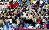 图文:[中甲]沈阳0-0东亚 球迷半裸喊下课