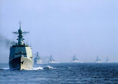 资料图:新型039宋级常规潜艇编队