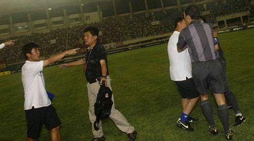 深圳教练指责裁判
