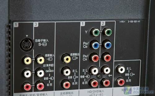 康佳LC32ES62液晶电视接口特写 -便宜实用还高清 热门32寸卧室液晶
