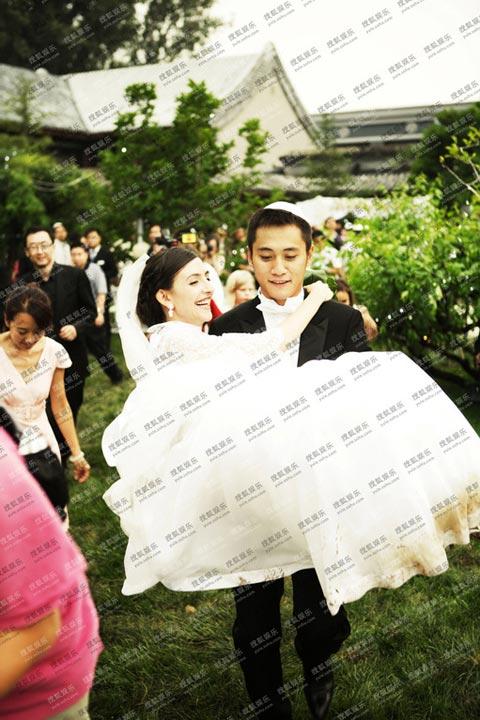 刘烨迎娶法国新娘