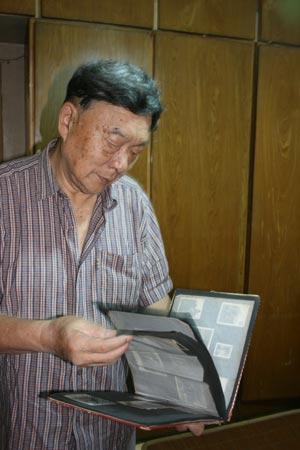 76岁的冉隆福老回忆当年的情景