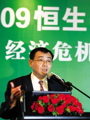 中国国际金融公司首席经济学家哈继铭