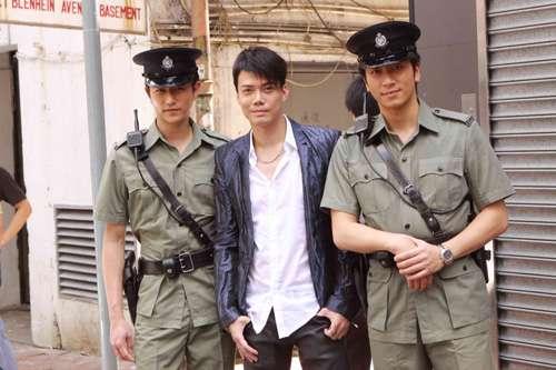 陈键锋(左起)、谢天华、吴卓羲从小荧幕走上大银幕