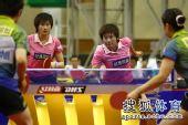 图文:张怡宁失分北京3-1辽宁 曹丽思开始反击