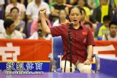 图文:张怡宁失分北京3-1辽宁 裁判宣布得分