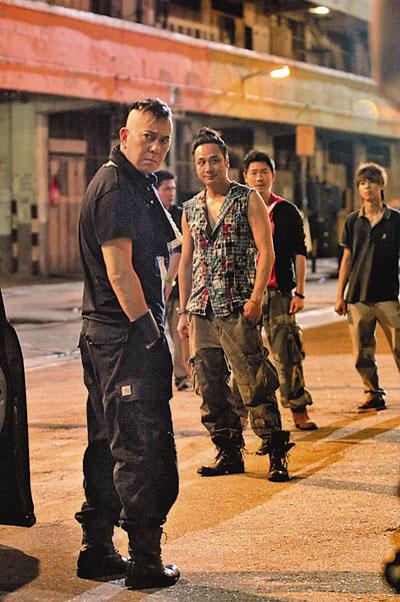 黄秋生和吴镇宇在《LAUGHING GOR之变节》中,都被后辈视为演技示范。