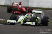 图文:F1德国大奖赛正赛 巴顿领先马萨