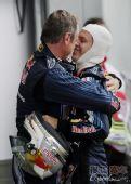 图文:F1德国大奖赛正赛 都快亲上了