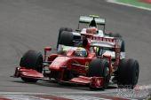 图文:F1德国大奖赛正赛 马萨压制巴里切罗