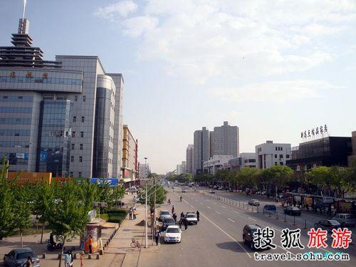 河北街景。_京郊自驾游 周末河北两日游(图)-搜狐旅游