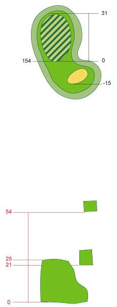 图文:第138届英国公开赛举办场地球道图4号洞