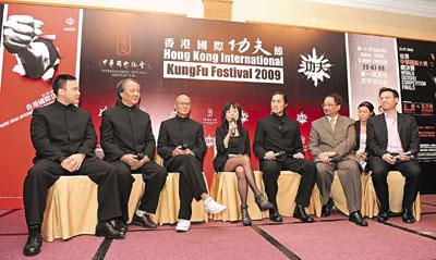 """""""香港国际功夫节""""快将举行,刘家辉、郑佩佩、徐小明均应邀担任荣誉顾问。"""