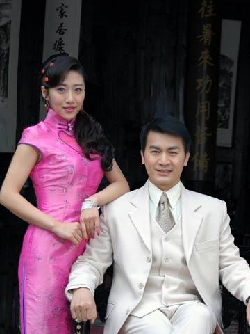 刘思彤、黄文豪合影
