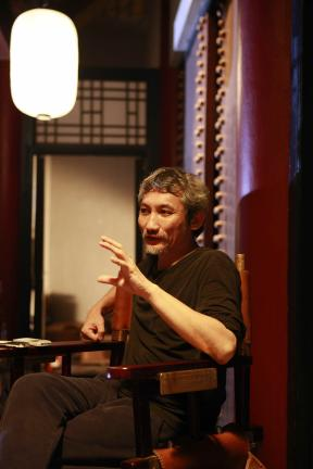 导演徐克畅谈剧中人物造型和创作理念。