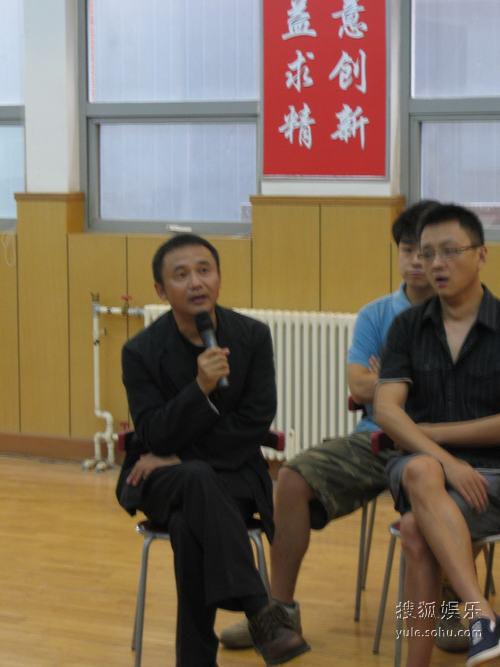 尚敬是该片的总导演兼监制
