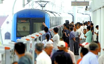 8号线二期自本月5日开通以来,乘客投诉反映手机打不通非常集中。