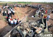 伊朗客机起火坠毁 168人遇难(组图)