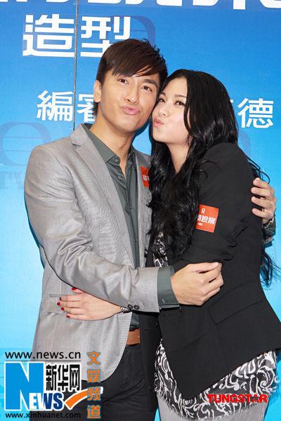 《谈情说案》试造型 林峰与杨怡携手缉凶破案图片
