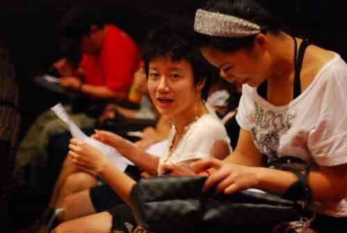 深圳观影团的许多网友看的时候昏昏欲睡