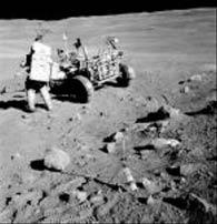在月球笛卡尔高地着陆