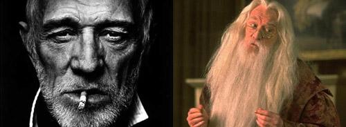 理查德只拍了两部《哈利波特》就撒手西去