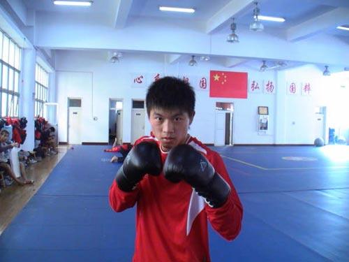 """安徽队65公斤级队员 """"笑面虎""""张军勇"""